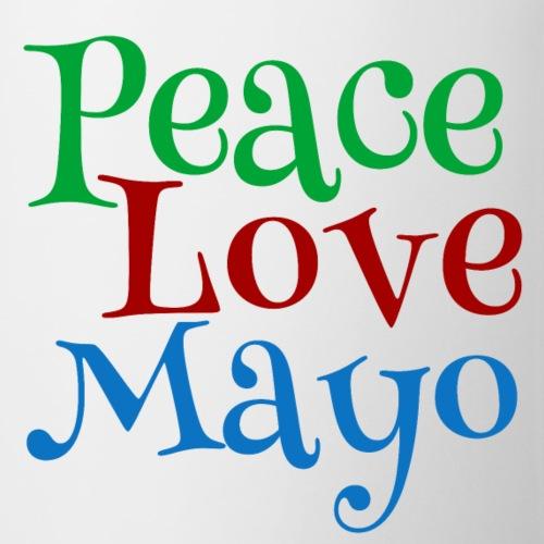 Peace Love Mayo Mayonnaise Lover - Coffee/Tea Mug
