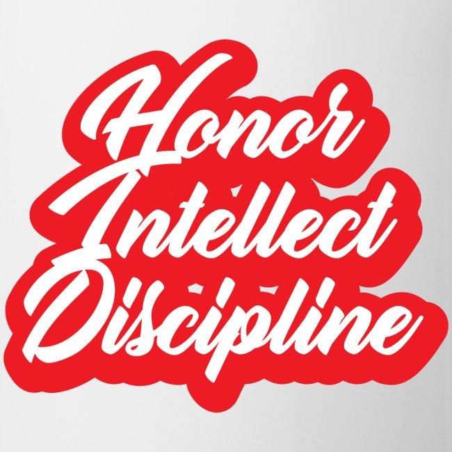 Honor Intellect Discipline