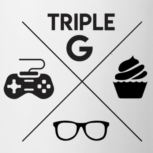 Triple G Crest - Black Design - Coffee/Tea Mug
