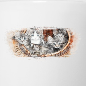 Basket full of kittens - Coffee/Tea Mug