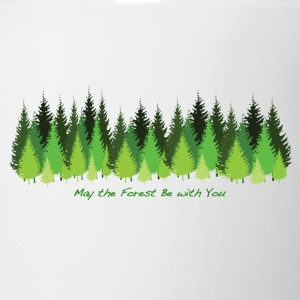 May the Forest Be with You - Coffee/Tea Mug