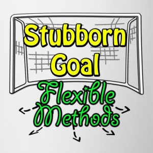Stubborn Goal Flexible Methods T-shirt - Coffee/Tea Mug