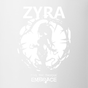 "Zyra ""Feel the thorns, Embrace"" - Coffee/Tea Mug"