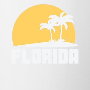 Florida Sunset Palm Trees Beach - Coffee/Tea Mug