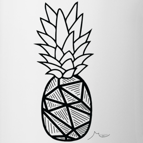 Geometry PineApple | Limited ♕ - Coffee/Tea Mug