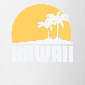 Hawaii Sunset Palm Trees Beach - Coffee/Tea Mug