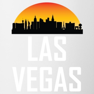 Sunset Skyline Silhouette of Las Vegas NV - Coffee/Tea Mug