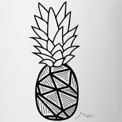 Geometry PineApple   Limited ♕ - Coffee/Tea Mug