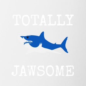 totally jawsome v1 - Coffee/Tea Mug
