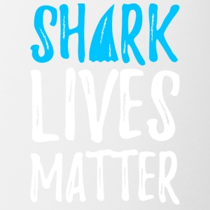 shark lives matter - Coffee/Tea Mug