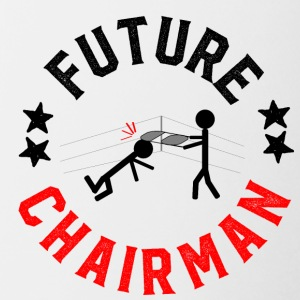 Future Chairman wrestling shirt - Coffee/Tea Mug