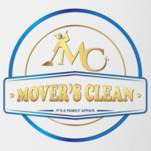Movers Clean gold and blue - Coffee/Tea Mug