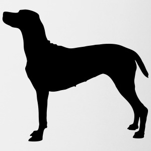 Vector dog Silhouette - Coffee/Tea Mug