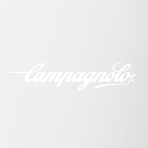 CAMPAGNOLO SCRIPT LOGO white - Coffee/Tea Mug