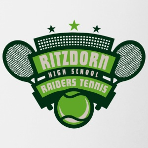 RITZDORN HIGH SCHOOL RAIDERS TENNIS - Coffee/Tea Mug