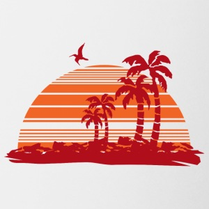 Sundown and Palms - Coffee/Tea Mug