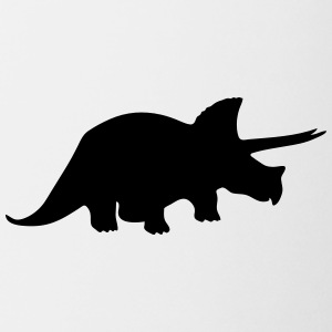 Dinosaur vector Silhouette - Coffee/Tea Mug