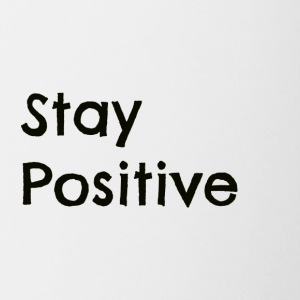 Stay Positive Black - Coffee/Tea Mug