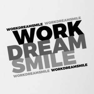 WORK DREAM SMILE - Coffee/Tea Mug