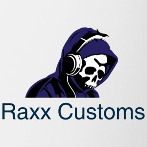 raxx customs logo 2 - Coffee/Tea Mug