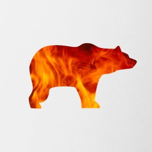 bear burning - Coffee/Tea Mug