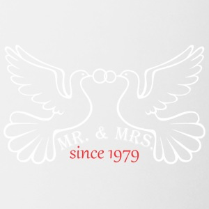 Mr And Mrs Since 1979 Married Marriage Engagement - Coffee/Tea Mug