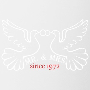 Mr And Mrs Since 1972 Married Marriage Engagement - Coffee/Tea Mug