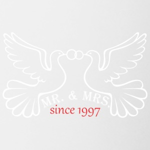 Mr And Mrs Since 1997 Married Marriage Engagement - Coffee/Tea Mug