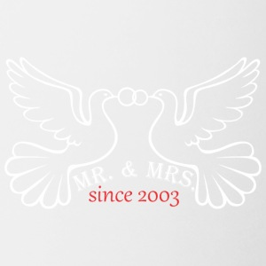 Mr And Mrs Since 2003 Married Marriage Engagement - Coffee/Tea Mug