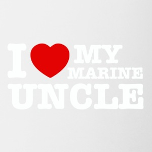 marine uncle design - Coffee/Tea Mug