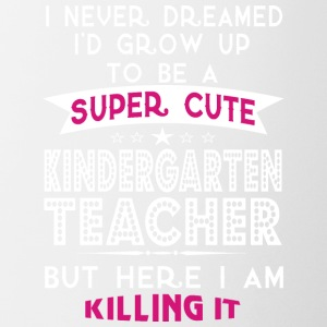 A Super Cute Kindergarten Teacher T Shirt - Coffee/Tea Mug