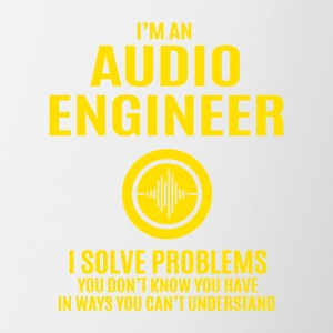 Audio Engineer Solve Problems Design Shirt - Coffee/Tea Mug