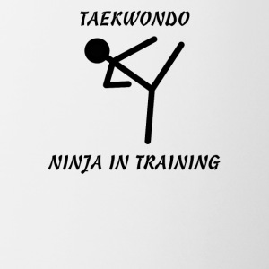 Taekwondo Ninja in Training - Coffee/Tea Mug