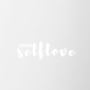 hashtag_selflove_WHITE - Coffee/Tea Mug