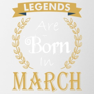 Legend Are Born In March - Coffee/Tea Mug