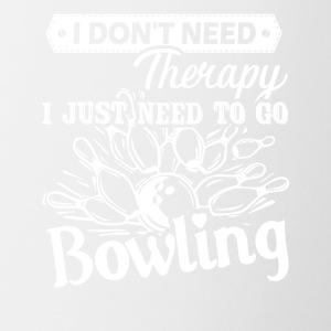 Bowling Therapy Shirt - Coffee/Tea Mug