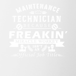 Maintenance Technician Shirt - Coffee/Tea Mug