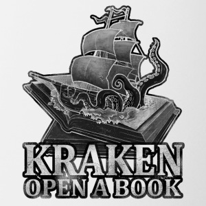 Kraken Open a Book - Coffee/Tea Mug