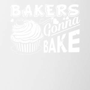 Bakers Gonna Bake Cupcake Cake Baker Tee Shirt - Coffee/Tea Mug