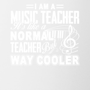 Funny Music Teacher Way Cooler Student School Tees - Coffee/Tea Mug