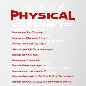 The Laws Of Physical Therapy Tee Shirt - Coffee/Tea Mug