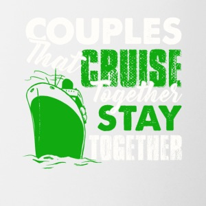 Couples Cruise Together Shirt - Coffee/Tea Mug
