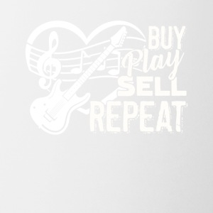 Bass Guitar Buy Play Sell Repeat Tshirt - Coffee/Tea Mug