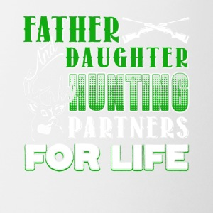 Father And Daughter Hunting Partners Shirt - Coffee/Tea Mug