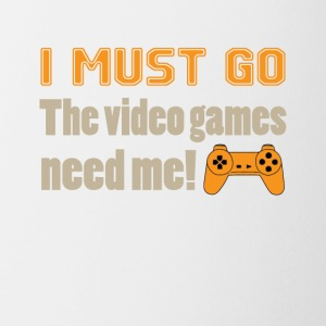 I Must Go The Video Games Tee Shirt - Coffee/Tea Mug