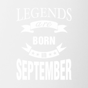 Legends are born in September - Coffee/Tea Mug