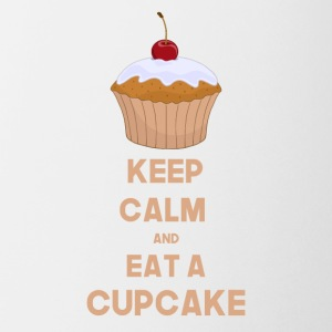 Funny Keep calm and eat a cupcake - Coffee/Tea Mug