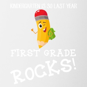 kindergarten is so last year, first grade Rocks! - Coffee/Tea Mug