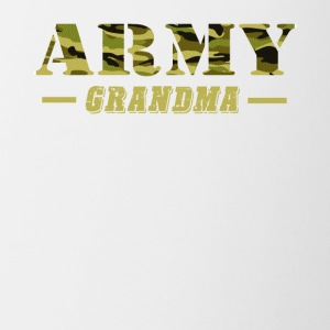 Army Grandma - Proud Army Grandma T-Shirt - Coffee/Tea Mug