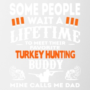 Favorite Turkey Hunting Buddy Shirt - Coffee/Tea Mug